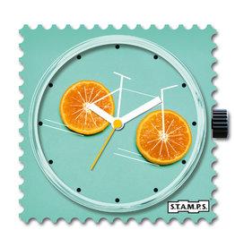 S.T.A.M.P.S Uhr Orange Bike