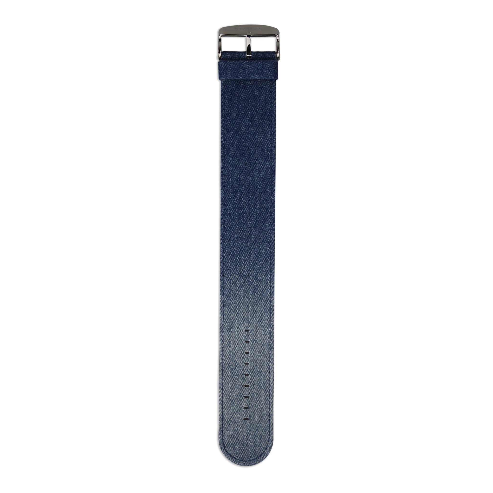 S.T.A.M.P.S Watchband Denim Stone Washed Blue