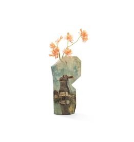 Pepe Heykoop Paper Vase Cover Windmill  Gabriël large