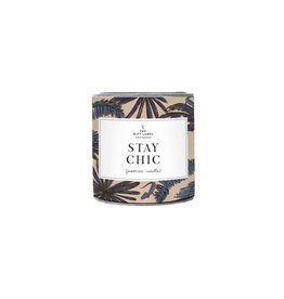 The Gift Label Scented candle in a can Stay Chic small