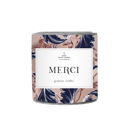 The Gift Label Scented candle in a can Merci big