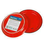 Cabanaz cake plate small red 16 cm