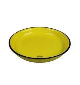 Cabanaz gebaksbord small geel 16 cm