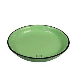 Cabanaz gebaksbord small groen16 cm