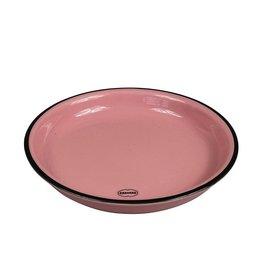 Cabanaz gebaksbord small roze 16 cm