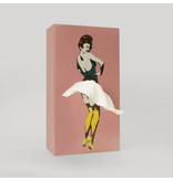 Luf Design Tissue Box Tissue UP Girl Pink