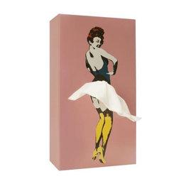 Luf Design Tissue Box Tissue UP Girl Roze