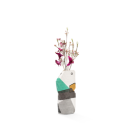 Pepe Heykoop Paper Vase Cover Abstract Green small