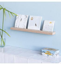 Storytiles  Houten wandplank voor siertegel  34 cm