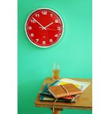 Cabanaz Wall Clock Scarlet Red
