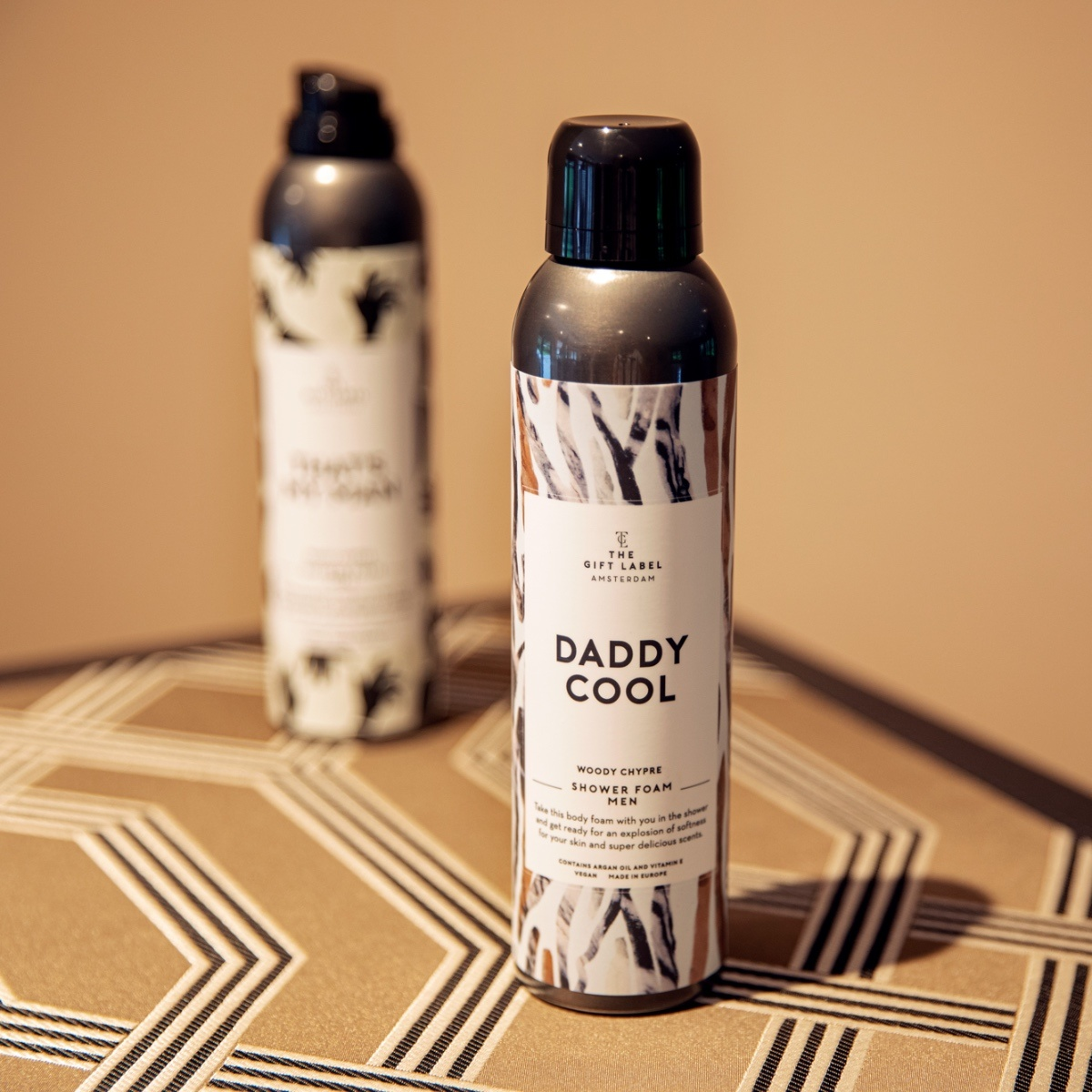 The Gift Label Shower Foam  Daddy Cool for men 200ml