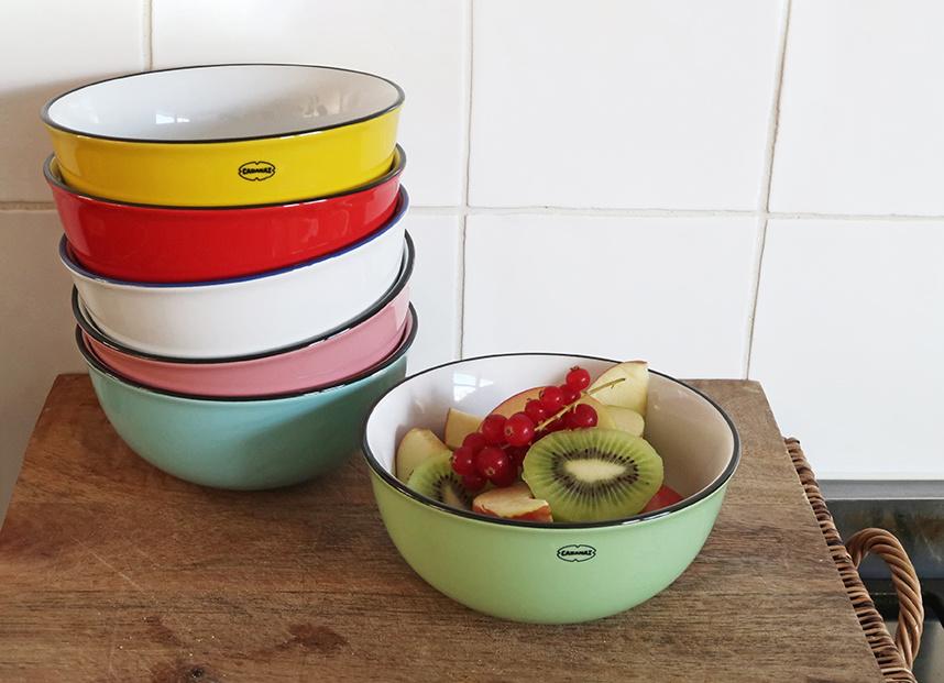 Cabanaz Breakfast bowl vintage green 550 ml