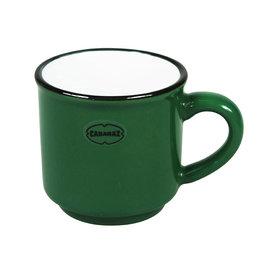 Cabanaz Espresso Cup dark green
