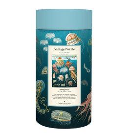 Cavallini & Co Vintage Puzzel 1000 stukjes Jellyfish