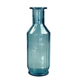 Cabanaz Faceta Dekanter recyceltes Glas blau