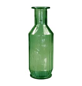 Cabanaz Faceta Decanter recycled glass green