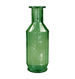 Cabanaz Faceta Dekanter recyceltes Glas grün