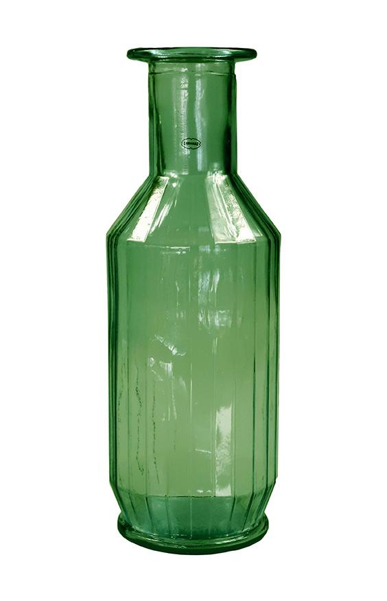 Cabanaz Faceta Decanter gerecycled glas groen 1,1 Liter