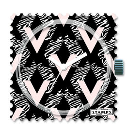 S.T.A.M.P.S Watch Geometric Zebra