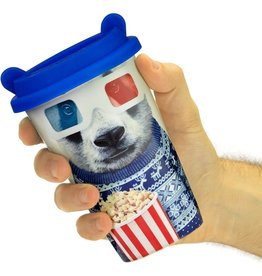 Mustard design Travel Mug panda