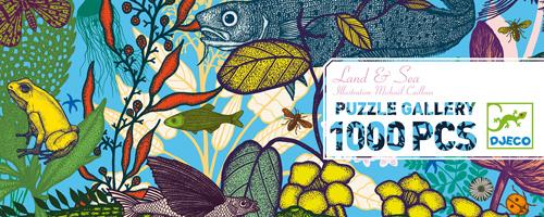Djeco Puzzel Land and Sea 1000 stukjes