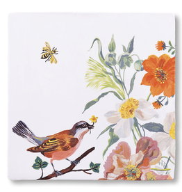 Storytiles  Decorative Tile Birds and Bees small