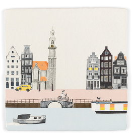 Storytiles  Decorative Tile Strolling through Amsterdam small