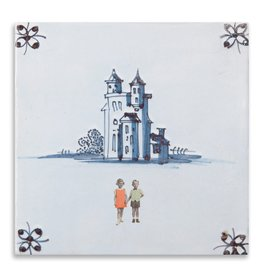 Storytiles  Decorative Tile And they lived happily ever after small