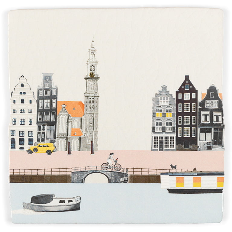 Storytiles  Decorative Tile Stroll through Amsterdam medium