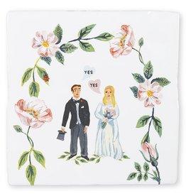 Storytiles  Decorative Tile She Said Yes medium