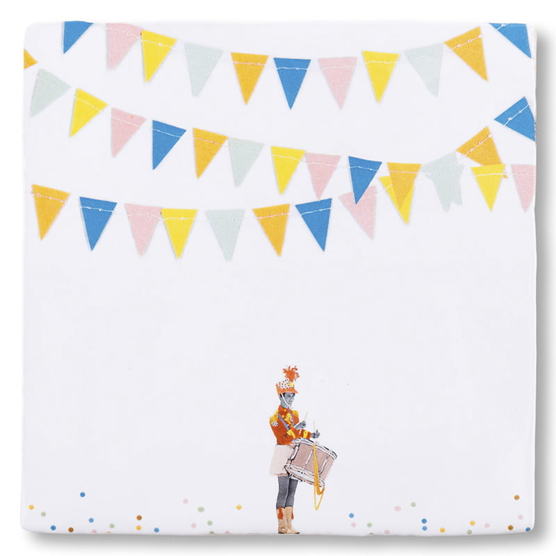 Storytiles  Decorative Tile Here's the Party medium