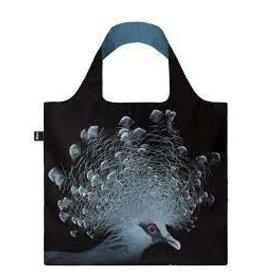 LOQI Foldable Shopper Crowned Pigeon