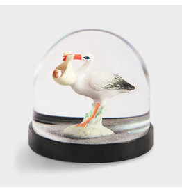 &Klevering Glitter Ball Stork