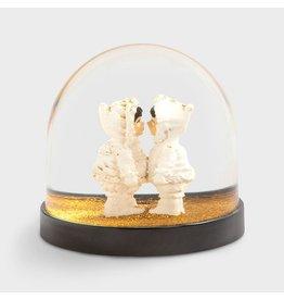 &Klevering Glitterbol Eskimo's goud
