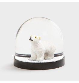 &Klevering Snow Globe Polar Bear