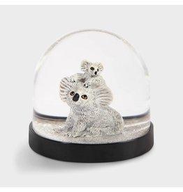&Klevering Sneeuwbol Koala met baby