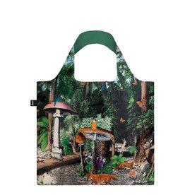 LOQI Foldable Shopper Black Forest