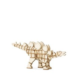 Kikkerland 3-D Wooden Puzzle Dino's Stegosaurus