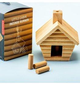 Kikkerland Incense burner Little Cabin