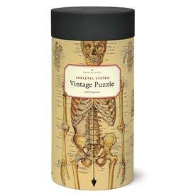 Cavallini & Co Vintage Puzzel 1000 stukjes Skeletal System
