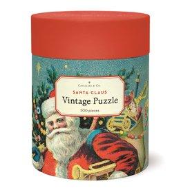 Cavallini & Co Vintage Puzzel 500 stukjes Santa Claus