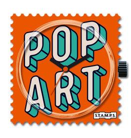 S.T.A.M.P.S Horloge Pop Art