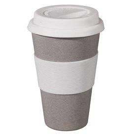 Zuperzozial Reisbeker Cruising Travel Mug Stone Grey