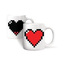 Kikkerland Thermographic Mug Heart