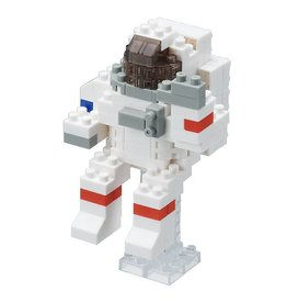 Nano Blocks Building Kit Astronaut