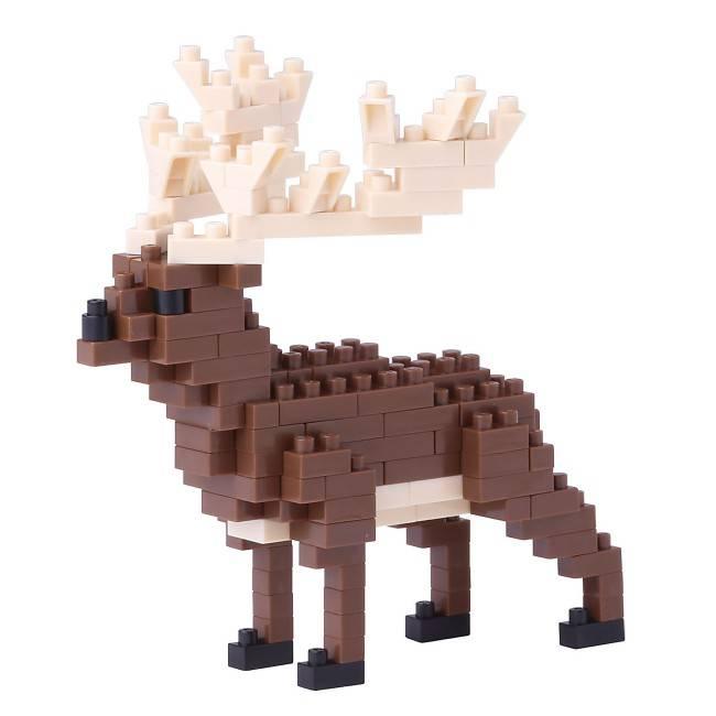Nano Blocks Bausatz Irisch Elch