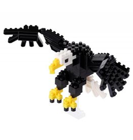 Nano Blocks Building Kit Bald Eagle
