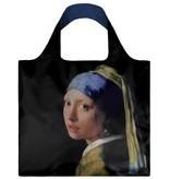 LOQI Faltbare Shopper Museum Mädchen mit dem Perlenohrring