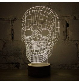 Studio Cheha Magic Lamp Skull