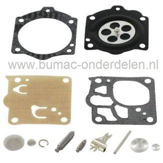 Membraan Reparatieset voor Walbro Carburateur Membraan voor Stihl Kettingzaag, Bladblazer, Bosmaaier, Strimmer, Bosmaaier.